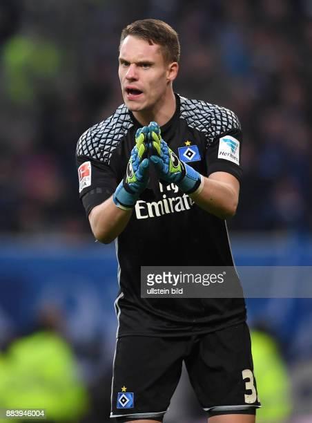 FUSSBALL 1 BUNDESLIGA 12 SPIELTAG SAISON Hamburger SV SV Werder Bremen Torwart Christian Mathenia