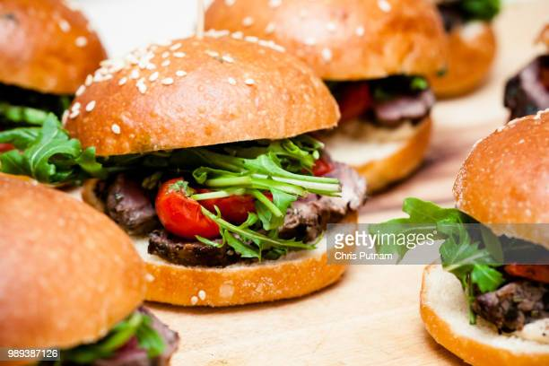 hamburgers - chris putnam stock pictures, royalty-free photos & images