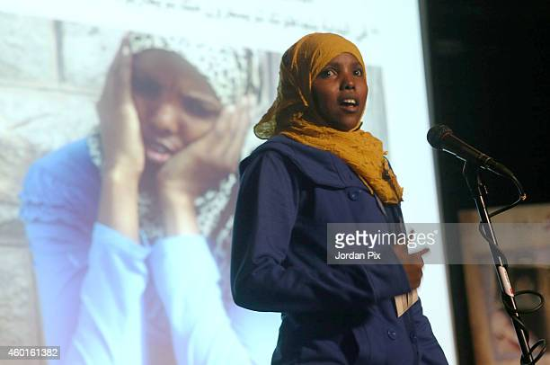 Hamdeya Abdullah a Somali refugee living in Jordan who slept for six months in front of the UNHCR offices in Amman before they accepted her case...