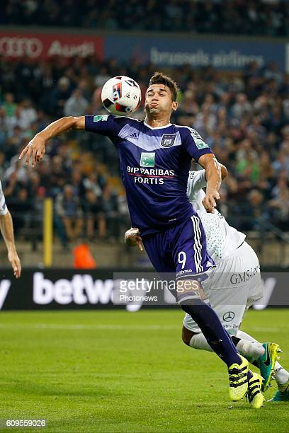 Hamdi Harbaoui forward of Rsc Anderlecht pictured during Croky Cup match between RSC Anderlecht and OHL on September 21 2016 in Brussels Belgium