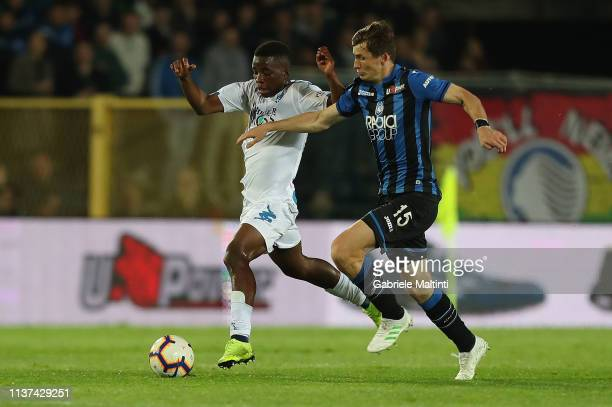 Hamed Junior Traore' of Empoli FC in action during the Serie A match between Atalanta BC and Empoli at Stadio Atleti Azzurri d'Italia on April 15...