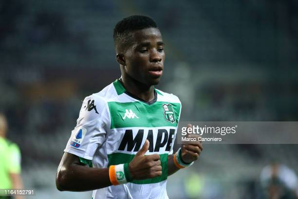 Hamed Junior Traore of Us Sassuolo Calcio during the the Serie A match between Torino Fc and Us Sassuolo Calcio Torino Fc wins 21 over Us Sassuolo...