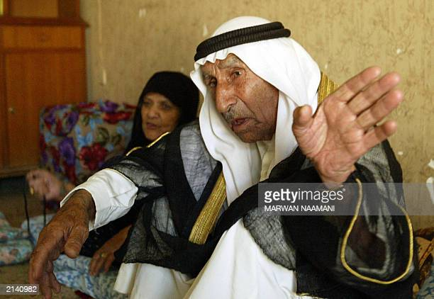 Hamid and his wife Thuraya parents of Abid Hamid Mahmud the most trusted lieutenant of toppled leader Saddam Hussein describe 19 June 2003 at their...