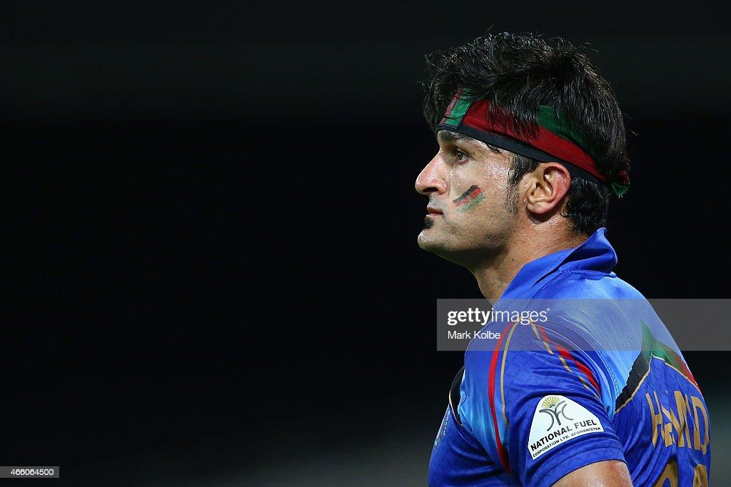 England v Afghanistan - 2015 ICC Cricket World Cup : News Photo