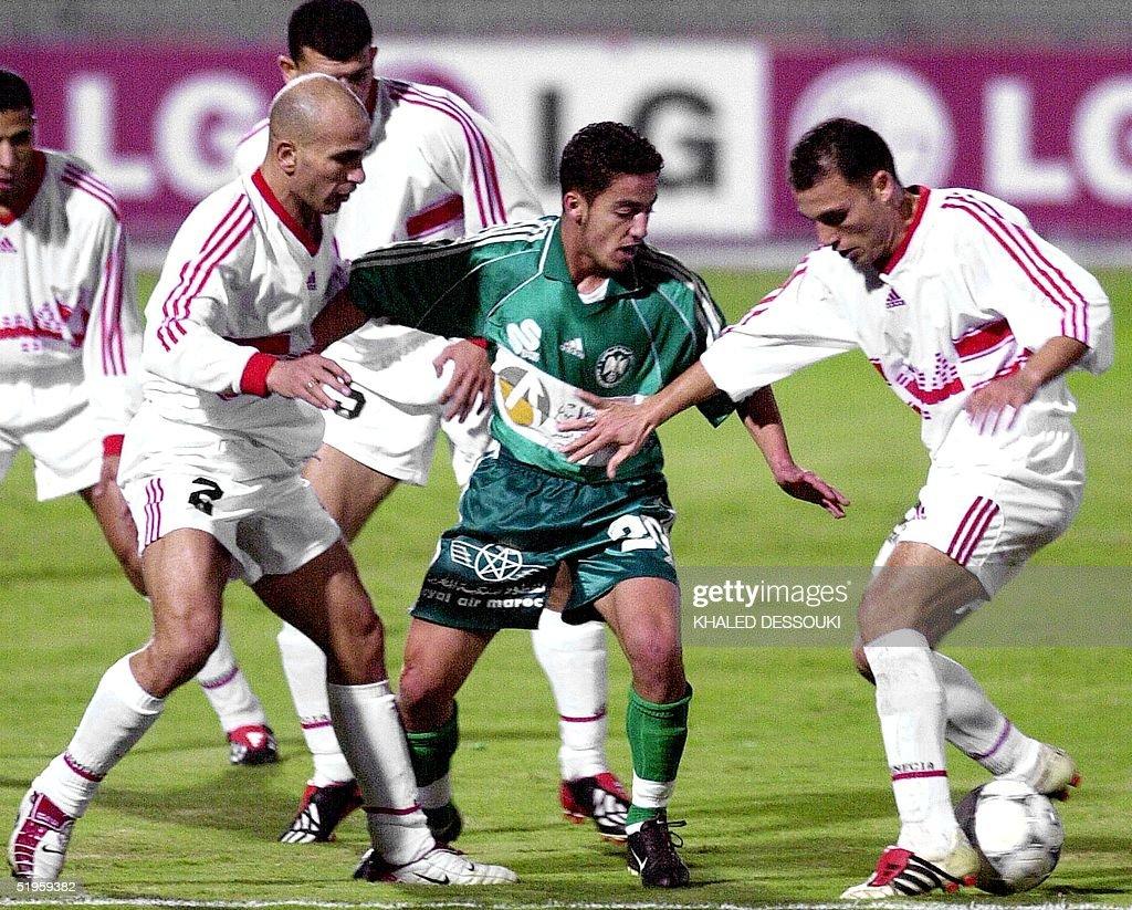 Hamid Nater of Moroccan club Raja challenges Tamer Abdul ...