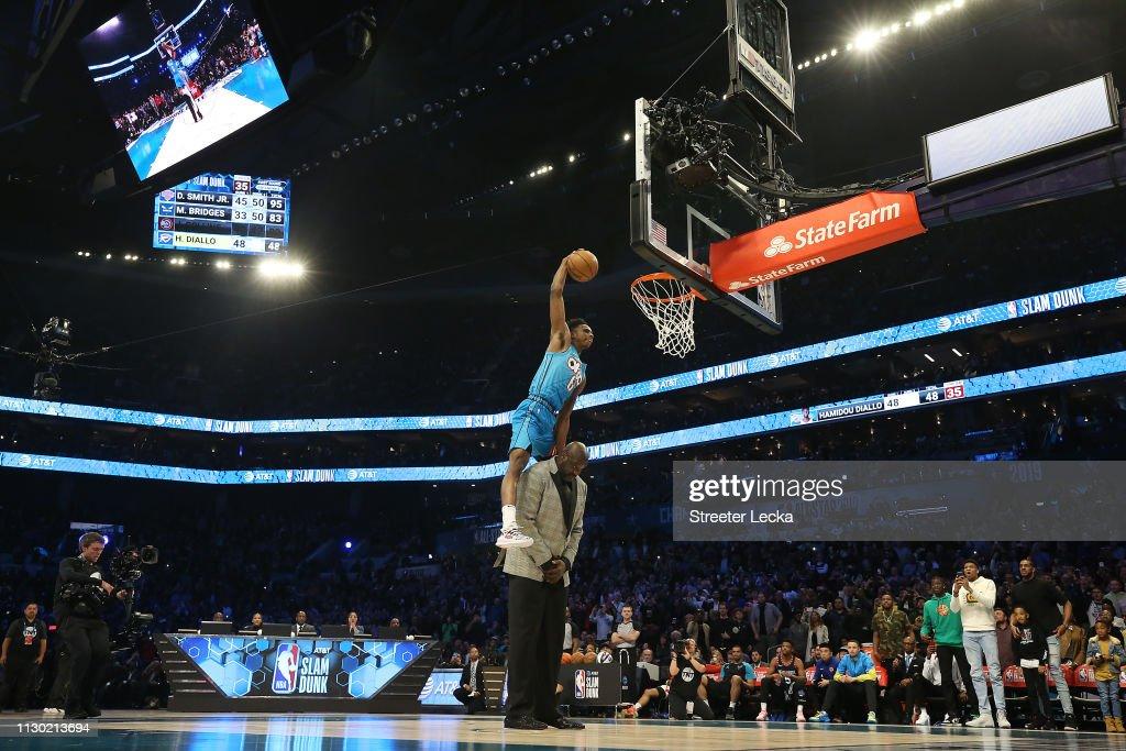 2019 AT&T Slam Dunk : News Photo