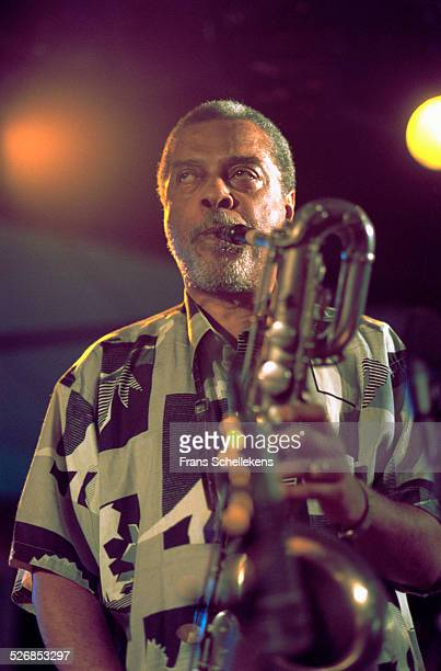 Hamiet Bluiett, baritone sax, performs on July 11th 1999 at the North Sea Jazz Festival in the Hague, Netherlands.