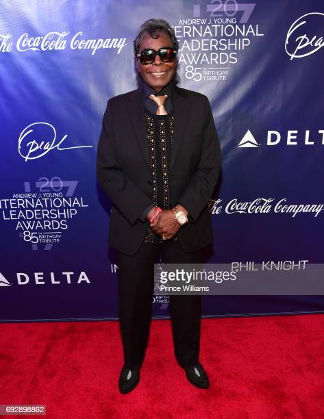 Hamilton Bohannon attends the 2017 Andrew Young International Leadership awards and 85th Birthday tribute at Philips Arena on June 3 2017 in Atlanta...