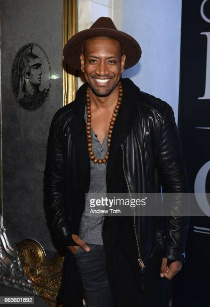 Hamilton Cast Member Bryan Terrell Clark attends the American Express Celebrates The New Platinum Card With Hamilton Takeover Experience on April 1...
