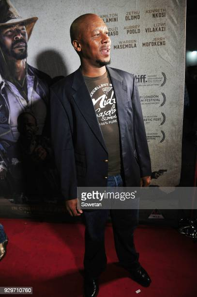 Hamilton Dhlamini during Five Fingers for Marseilles movie premiere at the Market Theatre on March 08 2018 in Johannesburg South Africa After its...