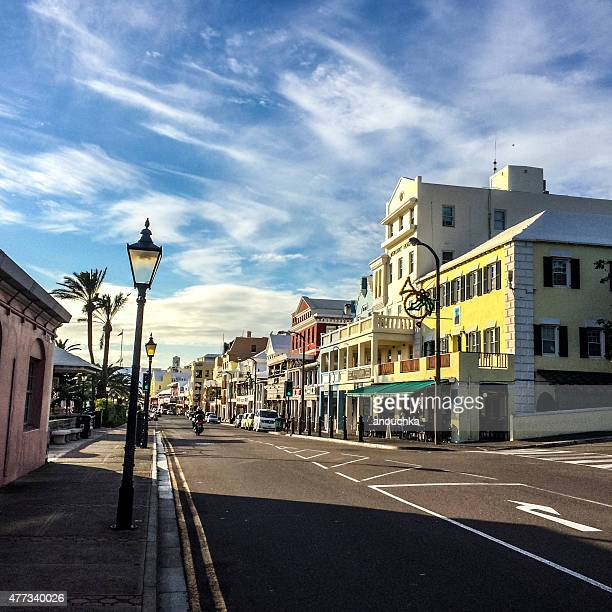 Hamilton Front street, Bermuda