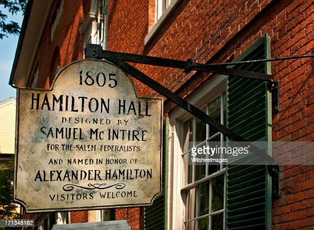 Hamilton Hall, Salem, Massachusetts, Historical Building