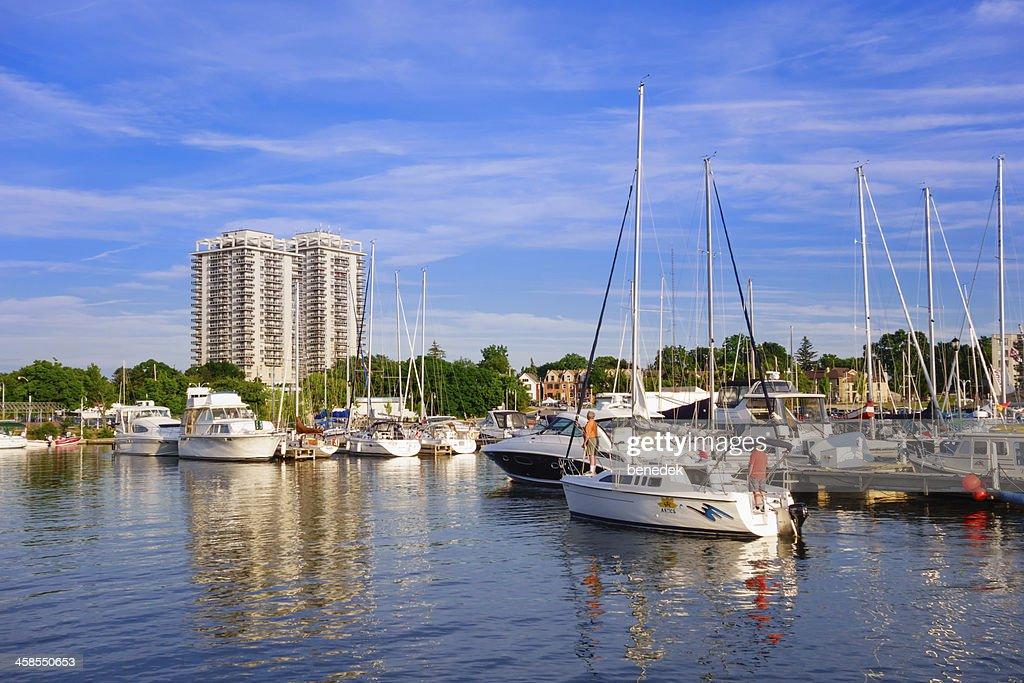 Hamilton Harbour, Ontario, Canada : Stock Photo