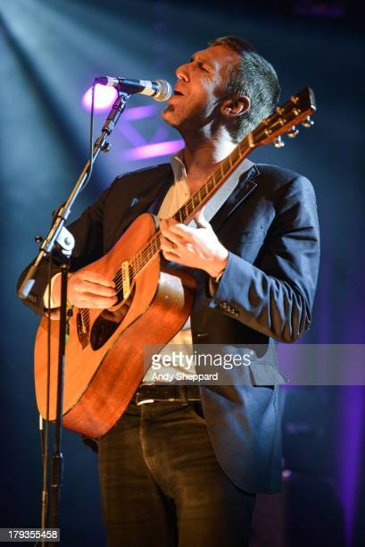Hamilton Leithauser of the band The Walkmen performs on stage on Day 3 of End Of The Road Festival 2013 at Larmer Tree Gardens on September 1 2013 in...