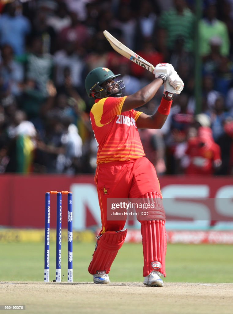 UAE v Zimbabwe - ICC Cricket World Cup Qualifier
