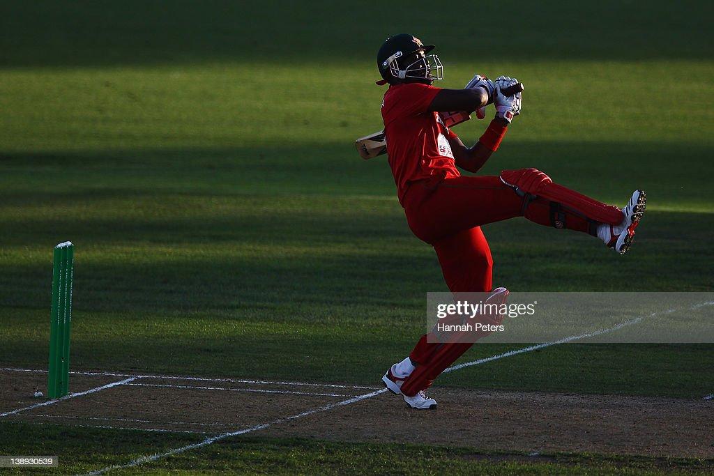 New Zealand v Zimbabwe - 2nd Twenty20 International : News Photo