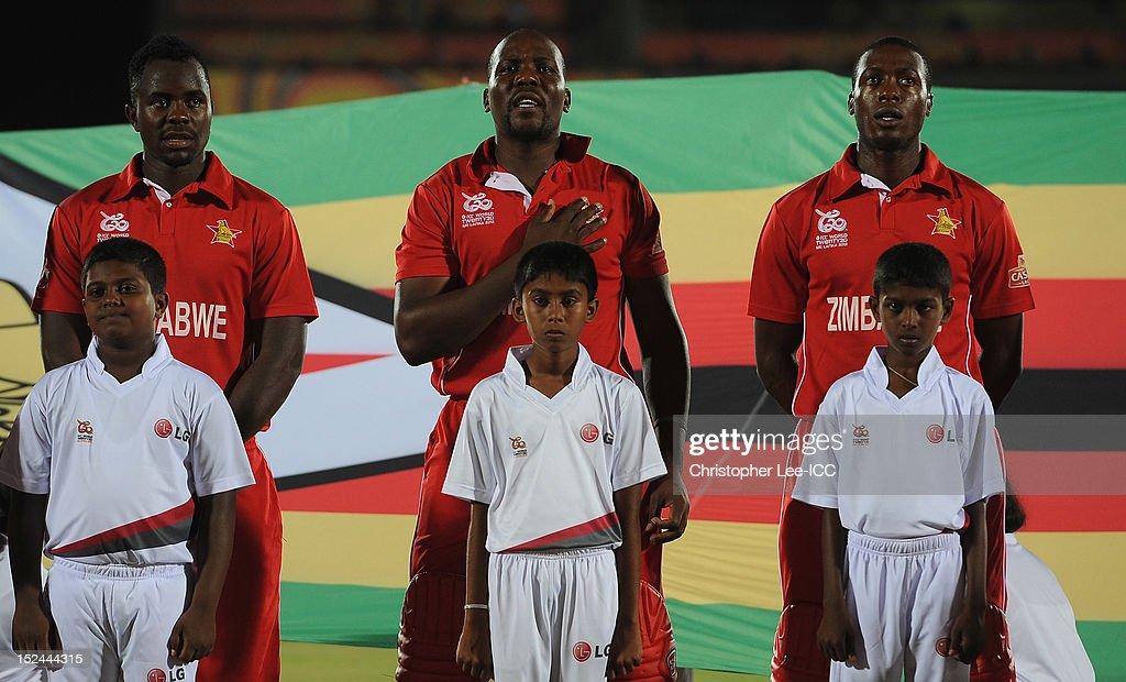 South Africa v Zimbabwe - ICC World Twenty20 2012: Group C