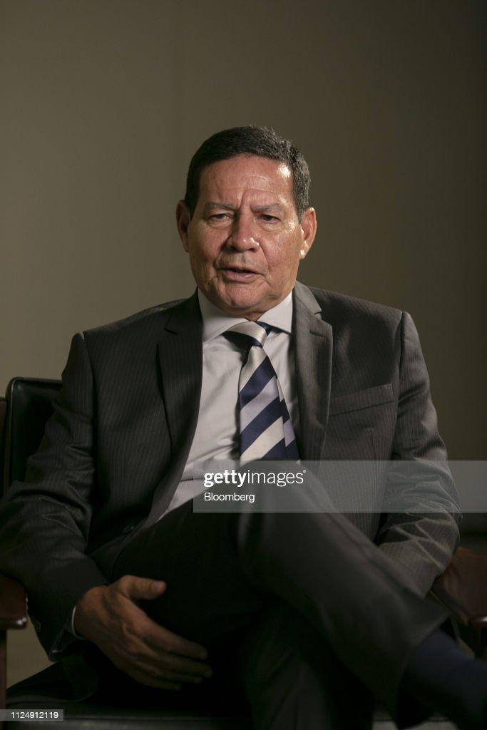 BRA: Brazilian Vice President Hamilton Mourao Interview