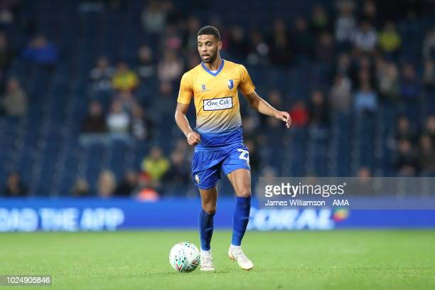 Hamilton of Mansfield Town during the Carabao Cup Second Round match between West Bromwich Albion and Mansfield Town at The Hawthorns on August 28...