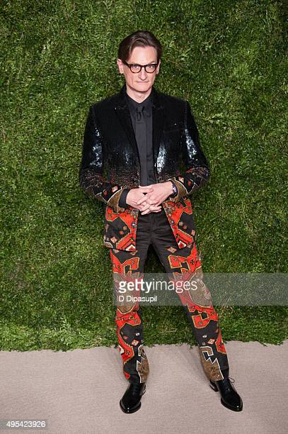 Hamish Bowles attends the 12th annual CFDA/Vogue Fashion Fund Awards at Spring Studios on November 2 2015 in New York City