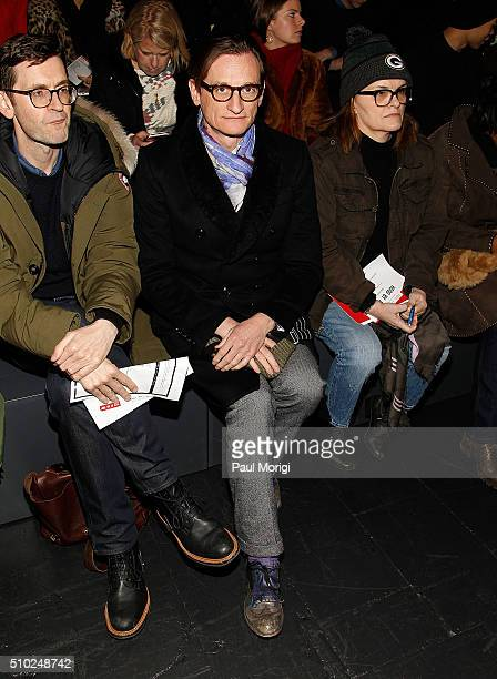 Hamish Bowles attends the Hood By Air 2016 fashion show on February 14 2016 in New York City