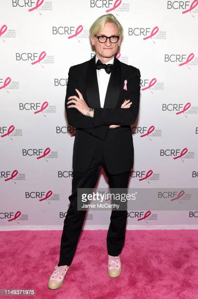 Hamish Bowles attends the Hot Pink Party hosted by the Breast Cancer Research Foundation at Park Avenue Armory on May 15 2019 in New York City