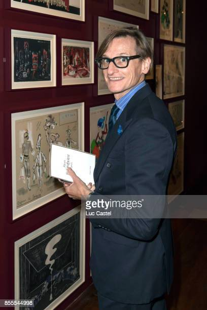 Hamish Bowles attends the Opening Party at Yves Saint Laurent Museum as part of the Paris Fashion Week Womenswear Spring/Summer 2018 on September 28...