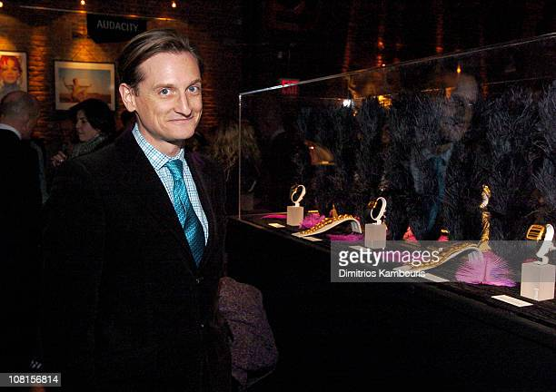 Hamish Bowles during 130th Anniversary Party for Piaget at Ruby Falls in New York City New York United States