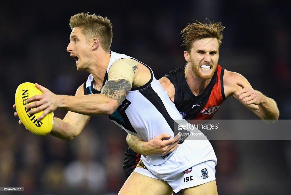 AFL Rd 12 - Essendon v Port Adelaide