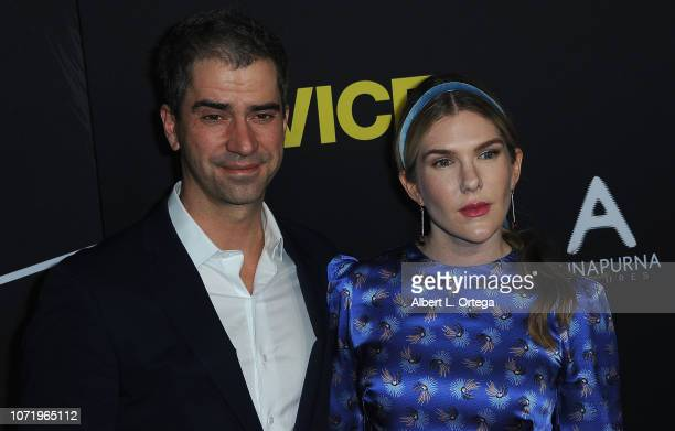 Hamish Linklater and Lily Rabe arrive for Annapurna Pictures Gary Sanchez Productions And Plan B Entertainment's World Premiere Of 'Vice' held at...