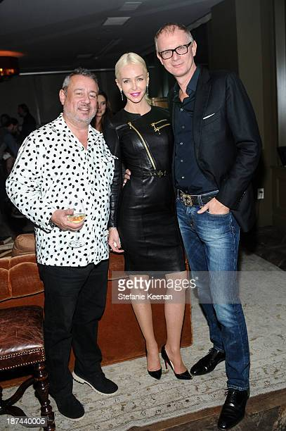 Hamish McAlpine Amanda Cronin Daeche and Mark Daeche attend The 'Last Supper' Discussion hosted By Stephen Webster At Soho House at Soho House on...