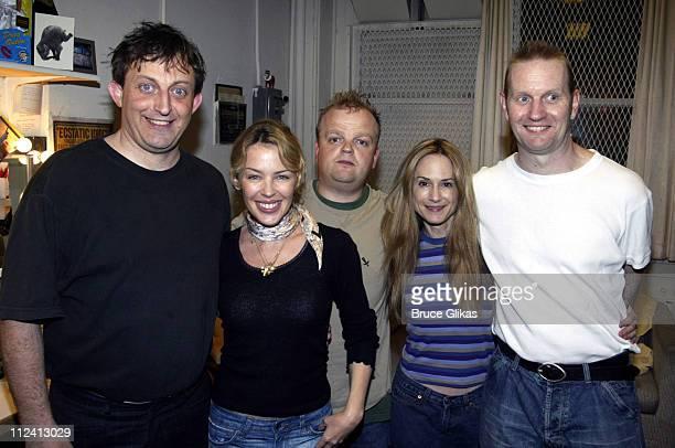 Hamish McColl Kylie Minogue Toby Jones Holly Hunter and Sean Foley