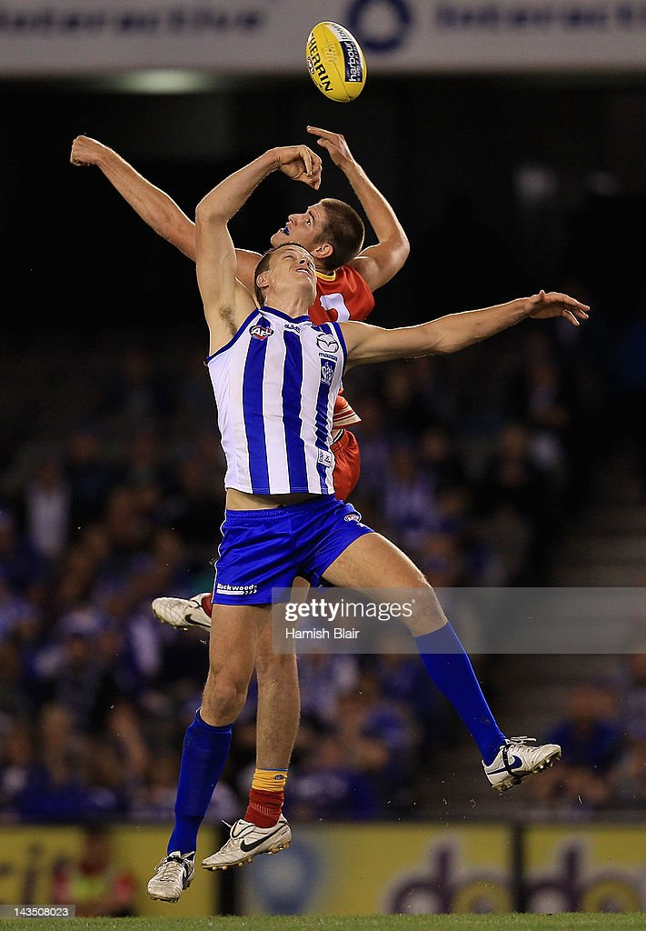AFL Rd 5 - North Melbourne v Gold Coast