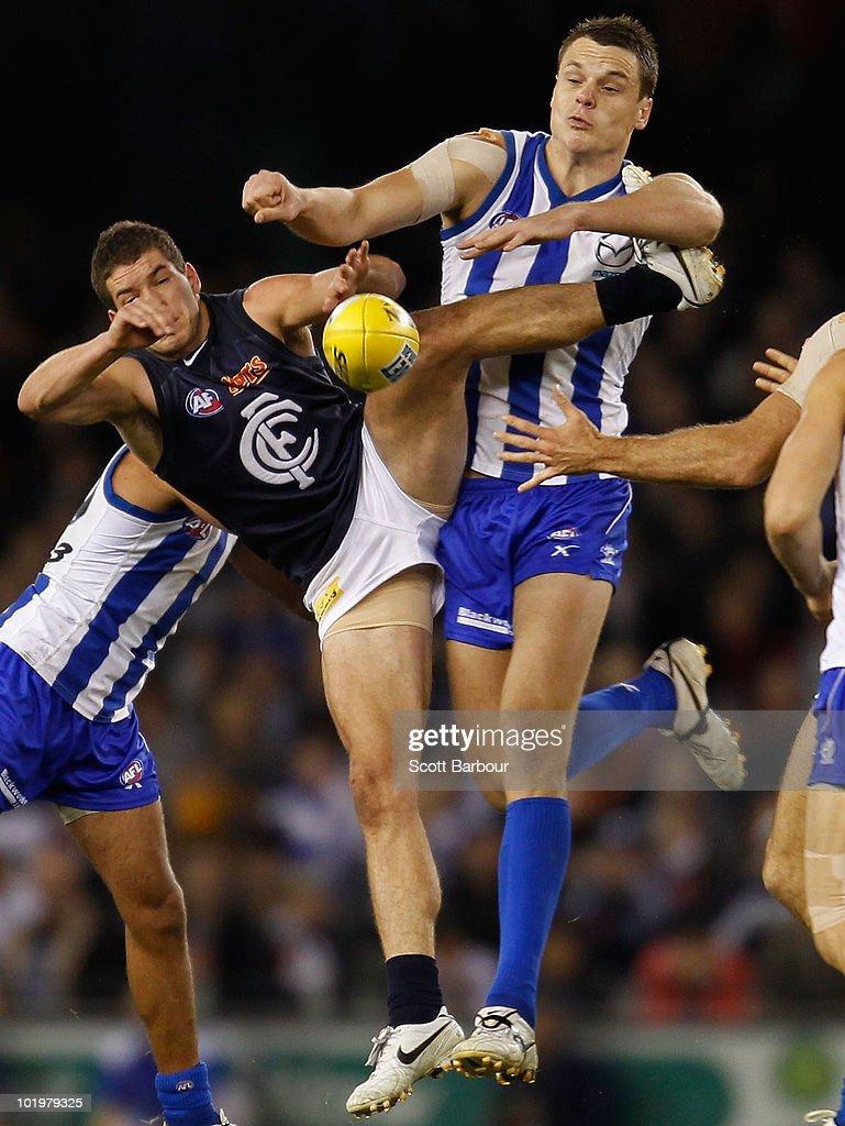 AFL Rd 12 - Kangaroos v Blues