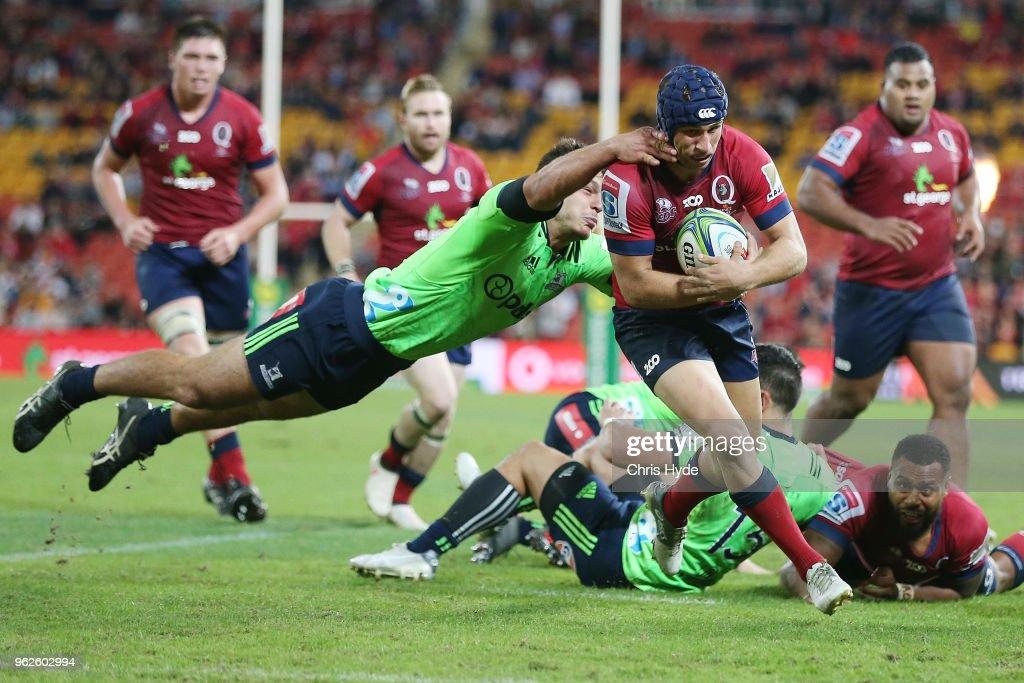 Super Rugby Rd 15 - Reds v Highlanders
