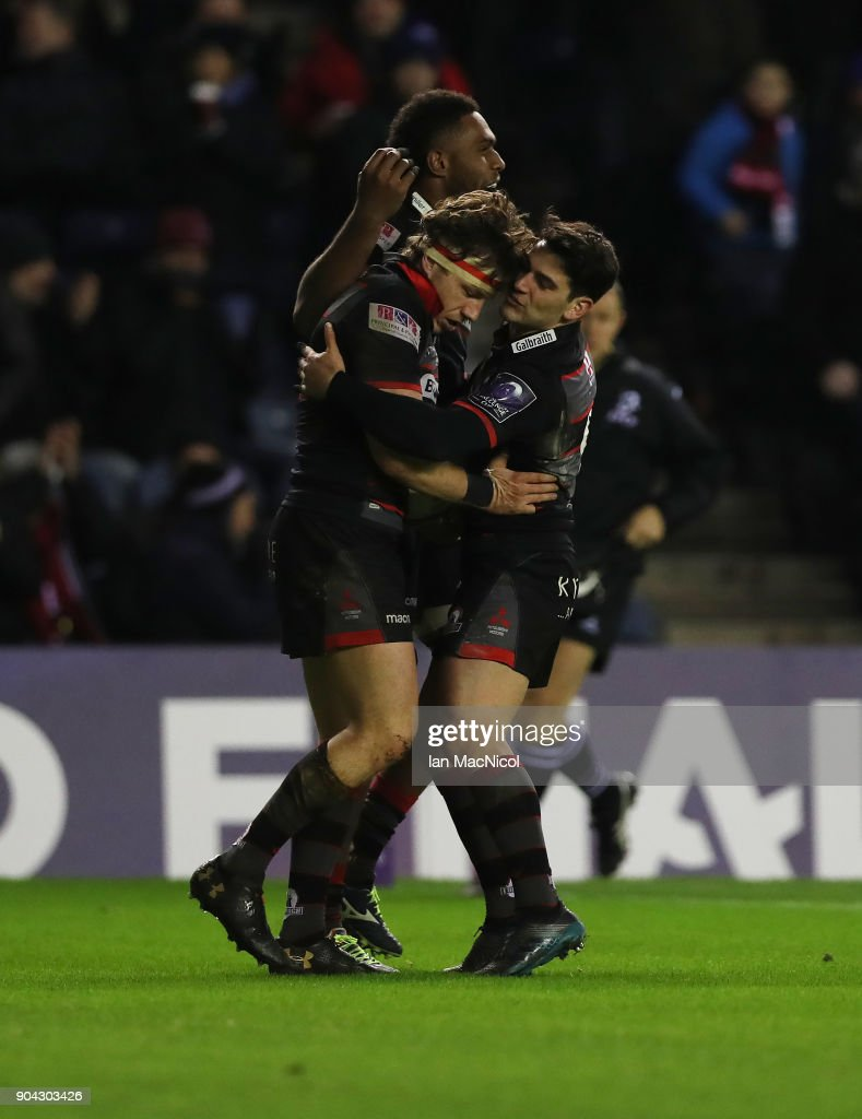 Edinburgh v Stade Francais Paris - European Rugby Challenge Cup