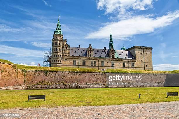 Hamlet's castle in Elsinore, Kronborg, Denmark
