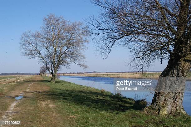 Hamme-Niederung, Worpswede , Teufelsmoor, Niedersachsen, Deutschland, Europa, Künstlerkolonie, Künstlerdorf, Fluss, Gewässer, Natur, Baum, Reise,