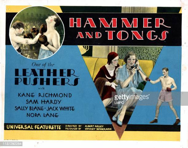 Hammer And Tongs poster Kane Richmond 1930