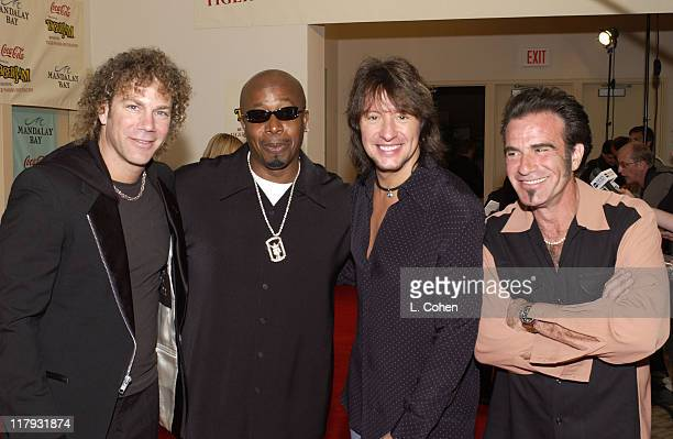 MC Hammer Bon Jovi during Coca Cola Presents Tiger Jam VI Benefitting Tiger Woods FoundationArrivals Concert at Mandalay Bay Events Center in Las...