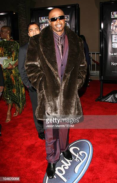 MC Hammer during BET 25th Anniversary Show Arrivals at Shrine Auditorium in Los Angeles California United States