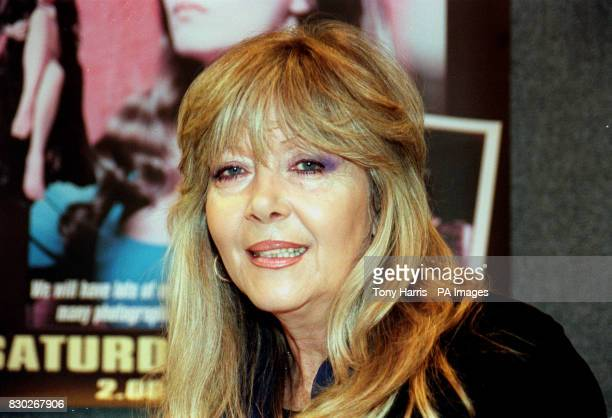 Hammer Horror actress Ingrid Pitt at the opening of Collect '99 at Wembley Exhibition Centre in London Collect '99 is an exhibition with items...