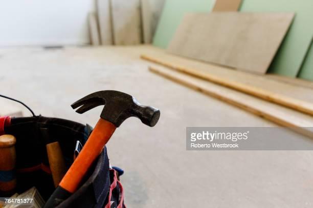 Hammer in bucket