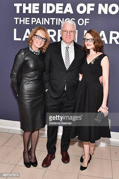 Hammer Museum Director Annie Philbin Steve Martin and Anne Stringfield attend Hammer Museum's Gala in the Garden Sponsored by Bottega Veneta at...