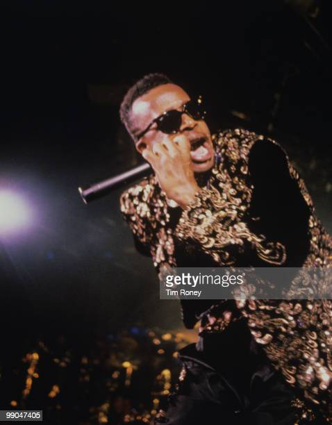 MC Hammer rapper performing on stage circa 1988
