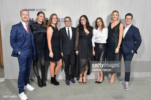Hammer team attends the Hammer Museum 16th Annual Gala in the Garden with generous support from South Coast Plaza at the Hammer Museum on October 14...
