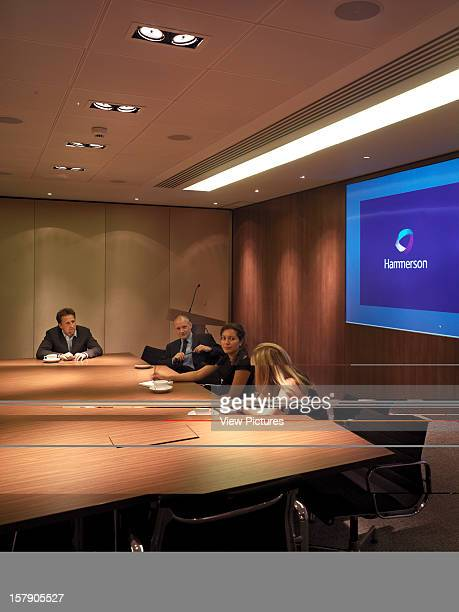 Hammerson London United Kingdom Architect Stiff And Trevillion Architects Hammerson Meeting Room People Having Meeting Corporate Discussion Video...