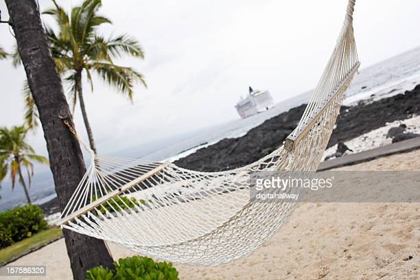 hammock haven - kona coast stock photos and pictures