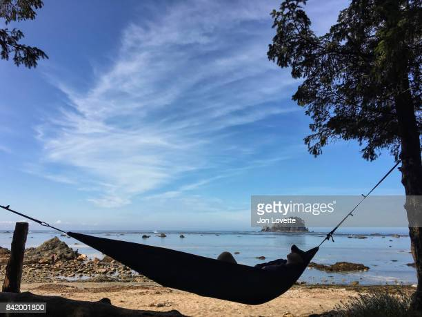man hammock at cape alava olympic