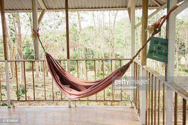 Hammock on Balcony with Jungle